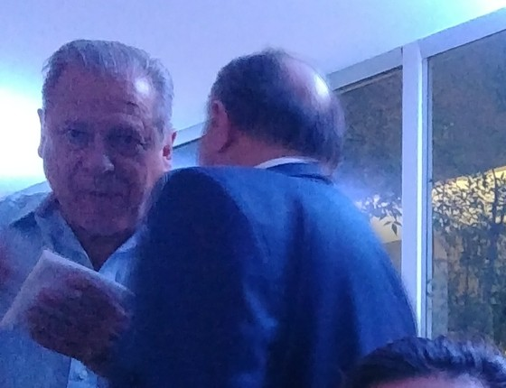 Dirceu prestigia aniversário de presidente da Valec em Brasília (Foto: Reprodução)