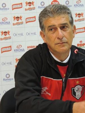 Ricardo Drubscky técnico Joinville (Foto: Renan Koerich)