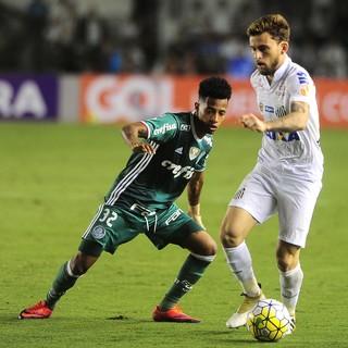 Santos x Palmeiras, Vila Belmiro (Foto: Marcos Ribolli)