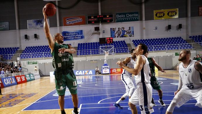 Minas x Bauru Basquete (Foto: Orlando Bento / MTC)