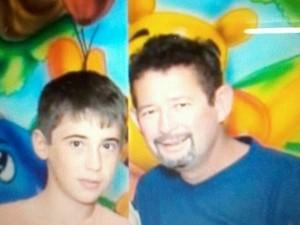 Pai e filho estão desparecidos em Borborema  (Foto: Reprodução/ Facebook)