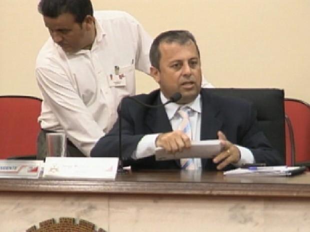 Jorge Menezes foi presidente da Câmara de Rio Preto por dois anos (Foto: Reprodução / TV Tem)