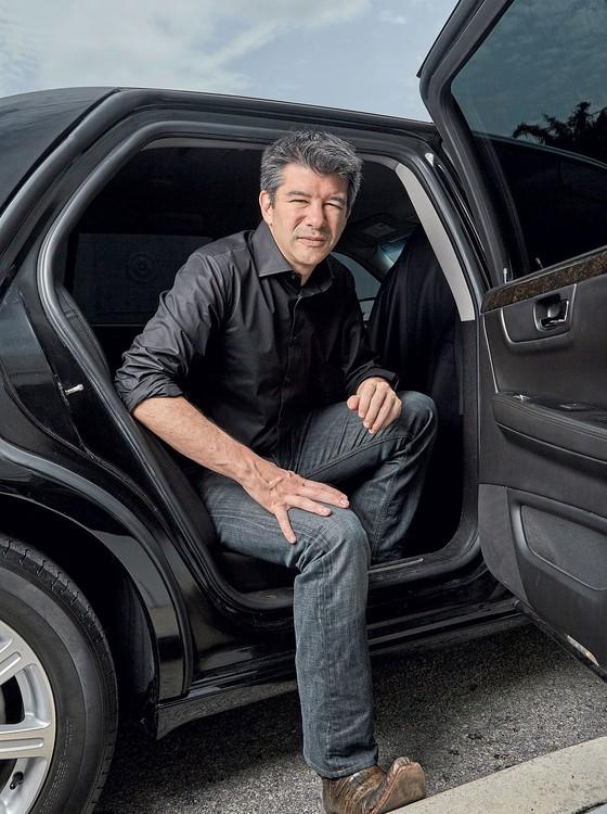 """Travis Kalanick,co-fundador e diretor presidente do Uber.Diante da saraivada de acusações ,ele de desculpou e disse que tem de """"crescer"""" (Foto:  Jeffery Salter/Redux)"""