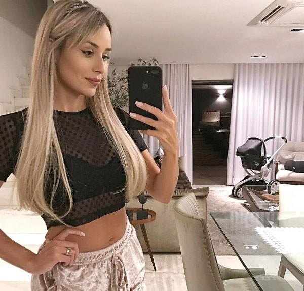 Leticia Santiago (Foto: Reprodução Instagram)