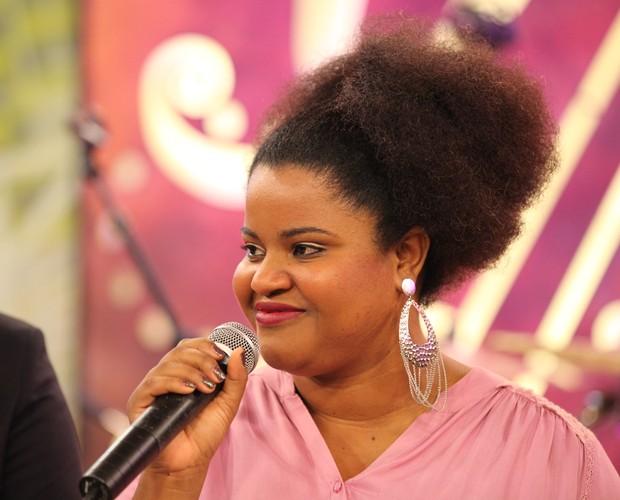 Para a semifinalista, o dom musical é divino (Foto: Isabella Pinheiro/Gshow)
