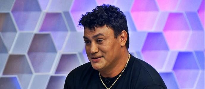 Popó veio ao Corujão do Esporte e se emocionou (Foto: Reprodução TV Globo)