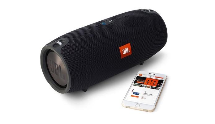 JBL Xtreme oferece bateria que aguenta até 15 horas de reprodução (Foto: Divulgação/JBL)