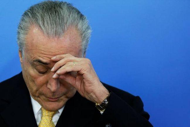 Michel Temer, presidente da República (Foto: Ueslei Marcelino / Reuters)