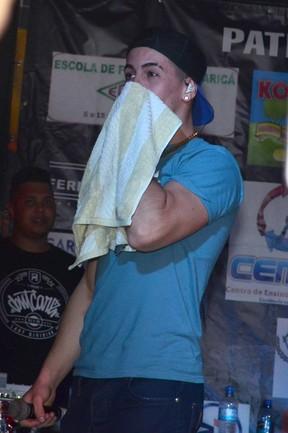 Biel em show em Maricá, no Rio (Foto: Roberto Teixeira/EGO)