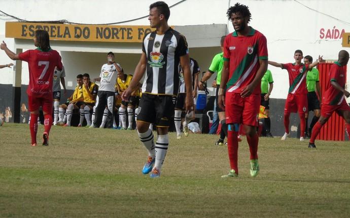 Atlético-ES x Real Noroeste, pelo jogo de volta da Copa Espírito Santo 2015 (Foto: Wildson Lesqueves/Atlético-ES)