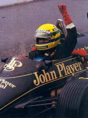 Ayrton Senna GP de Portugal de 1985 (Foto: Reprodução)