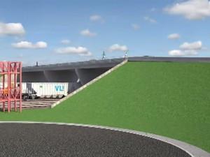 Viaduto Araguari (Foto: Reprodução/ TV Integração)