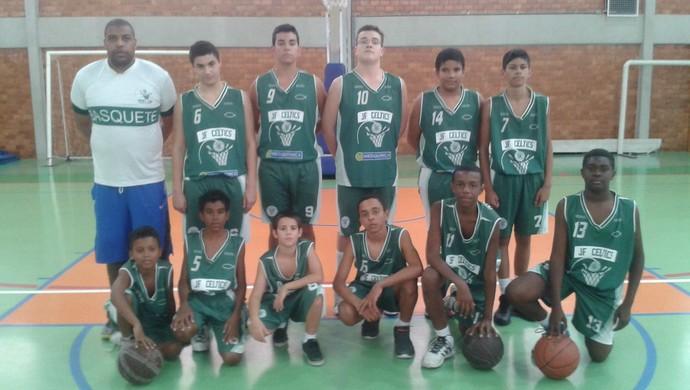 JF Celtics sub13 Copa Rio-MG etapa Valença (Foto: JF Celtics/ Divulgação)