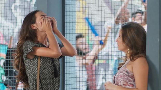 Malhação: Luciana fica arrasada com homenagem (Divulgação)