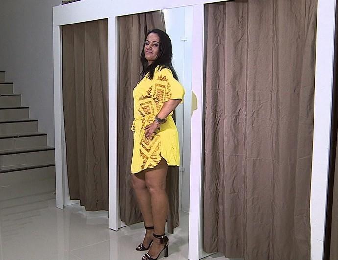 Tânia Laurindo, depois da consultoria (Foto: TV Sergipe)