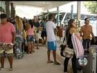 Rodoviárias lotam e ônibus são reforçados na Região dos Lagos, RJ