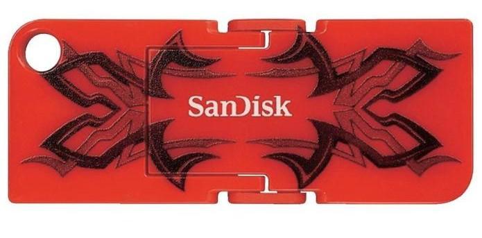 Pen Drive da SanDisk possui espaço de armazenamento de 8GB (Foto: Divulgação/Walmart) (Foto: Pen Drive da SanDisk possui espaço de armazenamento de 8GB (Foto: Divulgação/Walmart))