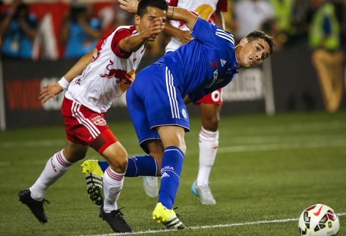 Oscar e Bedoya, New York RB x Chelsea (Foto: Agência Reuters)