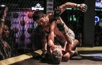 Marcelo Loro ganha cinturão dos palhas no Big Way Fight Night 2