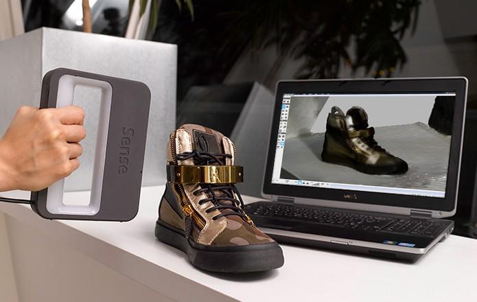 Scanner portátil 3D pode ser utilizado em objetos e pessoas (Foto: Divulgação)