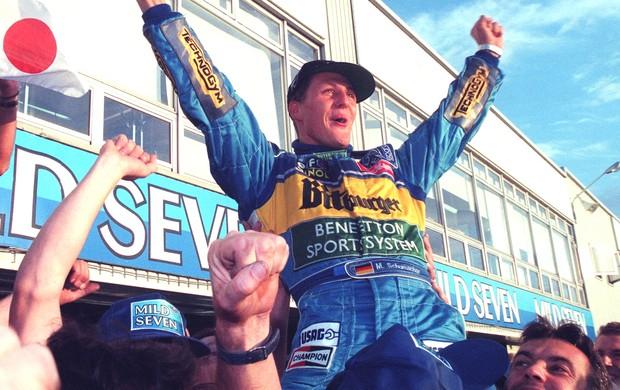 Schumacher Gp Japão 2 (Foto: Getty Images)