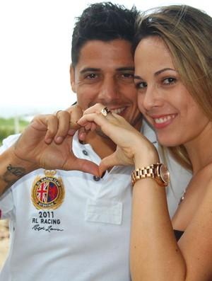 Cicinho e Marri (Foto: Tiago Medeiros/Globoesporte.com)