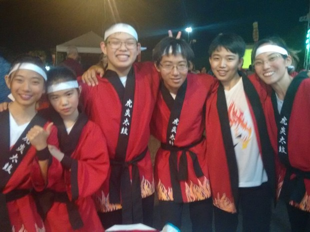 Primos japoneses fazem parte da Associação Cultural Nipo-brasileira do Tocantins (Foto: Gabriela Lago/G1)