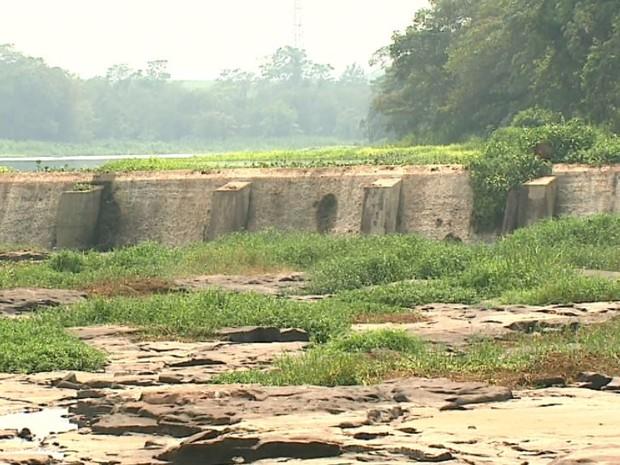 Paisagem da Cachoeira de Emas em Pirassununga (Foto: Marlon Tavoni/ EPTV)