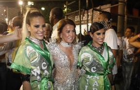 Wanessa, Zilu e Camilla Camargo  (Foto: Isac Luz / EGO)