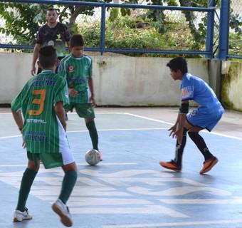 Futsal Sub-13 (Foto: Tércio Neto/GloboEsporte.com)