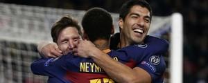 Barcelona atropela o Roma com  6 a 1 e garante 1º lugar do grupo (Reuters)