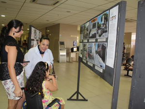 Mostra começou nesta terça (12) no Fórum Demóstenes Batista Veras (Foto: Divulgação/Assessoria OAB Caruaru)