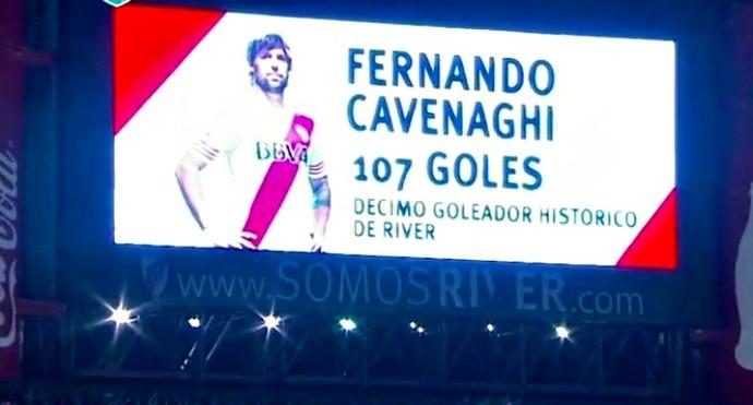 Fernando Cavenaghi, River Plate x Banfield, Campeonato Argentino
