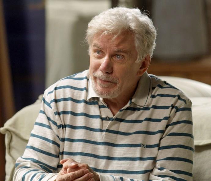 Maurice diz para o filho seduzir Eliza e depois esquecê-la (Foto: TV Globo)