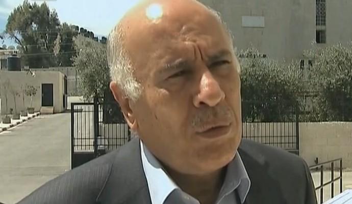 Jibril Rajoub, presidente da Associação Palestina de Futebol (Foto: Reprodução SporTV)