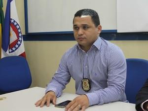 Delegado Seccional, Marceone Ferreira foi designado para solucionar o Caso Beatriz (Foto: Taisa Alencar / G1)