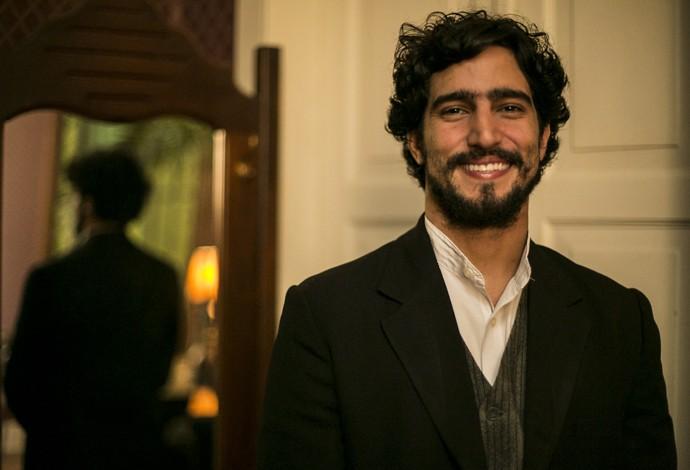 Renato Góes será o humilde Vicente em 'Ligações Perigosas' (Foto: Inácio Moraes/Gshow)