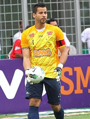 Fábio goleiro do Cruzeiro (Foto: Denilton Dias / Vipcomm)