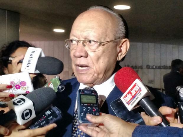 Senador João Alberto Souza (PMDB-MA), presidente do Conselho de Ética do Senado (Foto: Laís Alegretti/G1)