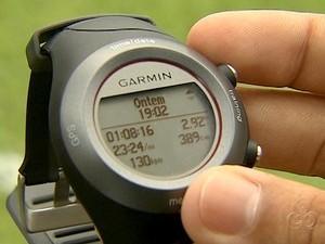 Relógio Nacional-AM (Foto: Reprodução/TV Amazonas)