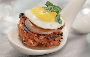 Socarrat de Kimchi e vieira