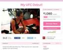 Curtinhas: lutadora usa financiamento coletivo para trazer córner ao Brasil