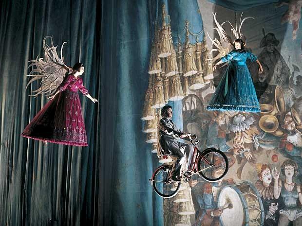 Cena de 'Corteo', novo espetáculo do Cirque Du Soleil, que estreia no Brasil em março de 2013 (Foto: Cirque Du Soleil/Divulgação)