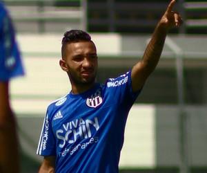 Clayson, atacante Ponte (Foto: Carlos Velardi/ EPTV)