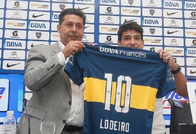 Lodeiro Boca Juniors (Foto: DIvulgação/Site oficial Boca Juniors)