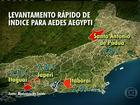 Vinte e seis municípios do RJ estão em situação de alerta para dengue