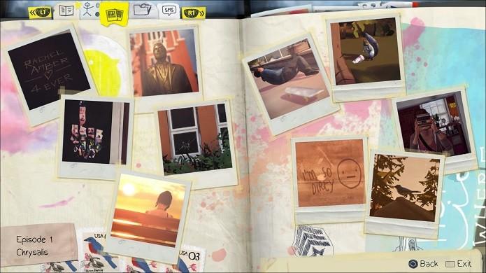 Life is Strange: Álbum de fotografias de Max (Foto: Reprodução/Emanuel Schimidt)
