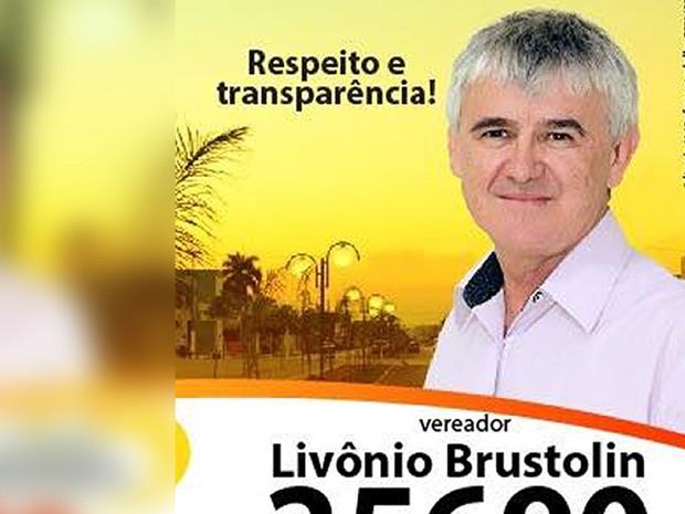 Livônio Paulo Brustolin (DEM) (Foto: Divulgação)