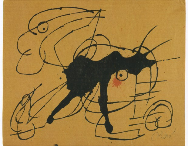 Chien, de Miró (Foto: Divulgação)