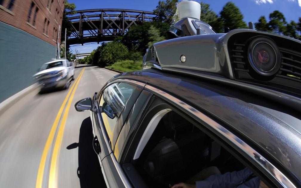 Carro autônomo do Uber (Foto: Gene J. Puskar/AP)